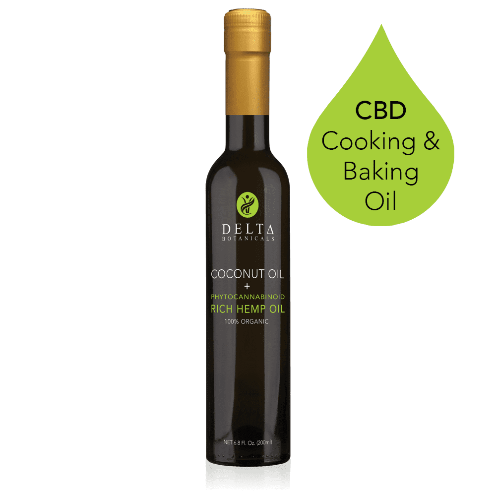 NEW! 200mg CBD Cooking & Baking Oil