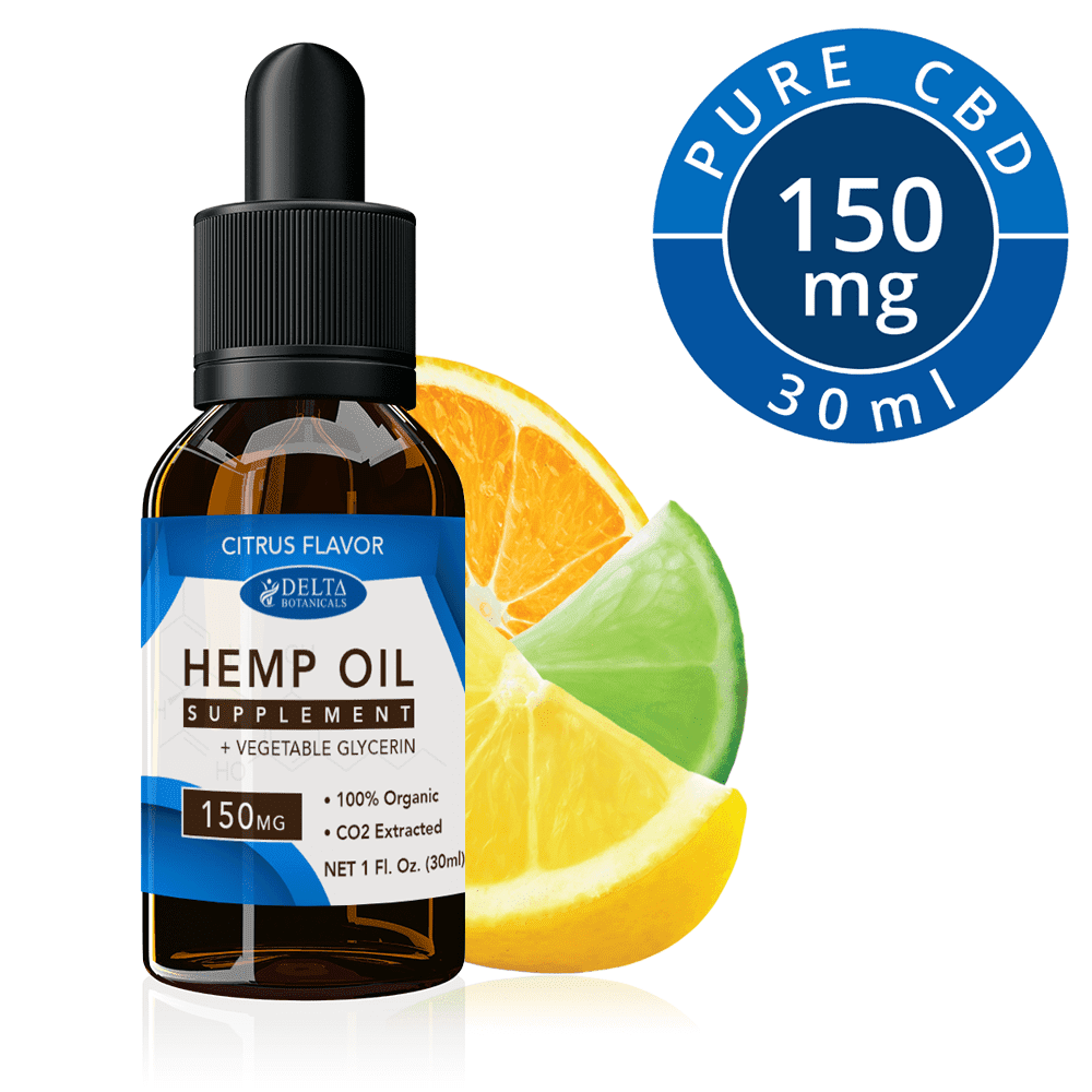 Citrus Fruits CBD E Liquid - 150mg CBD | 30ml Vape Oil