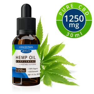 CBD E-Liquid Concentrate – 1250mg CBD | 30ml Vape Oil