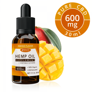 Mango CBD E Liquid - 600mg CBD | 30ml Vape Oil