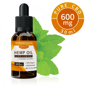 Peppermint CBD E Liquid - 600mg CBD | 30ml Vape Oil