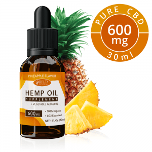 Pineapple CBD E Liquid - 600mg CBD | 30ml Vape Oil