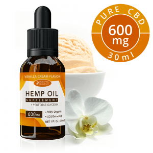 Vanilla Cream CBD E Liquid - 600mg CBD | 30ml Vape Oil