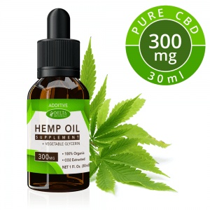 CBD Additive E Liquid - 300mg CBD | 30ml Vape Oil