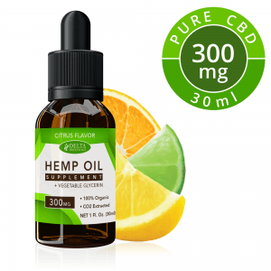 Citrus Fruits CBD E Liquid - 300mg CBD | 30ml Vape Oil