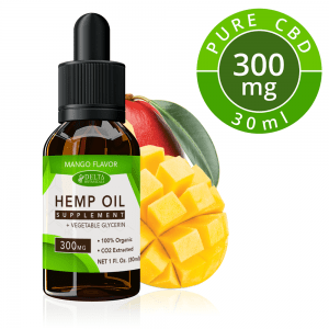 Mango CBD E Liquid - 300mg CBD | 30ml Vape Oil