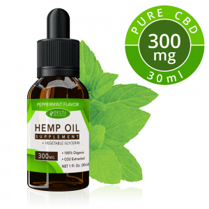 Peppermint CBD E Liquid - 300mg CBD | 30ml Vape Oil