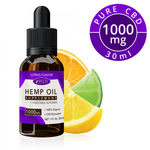 Citrus Fruits CBD E Liquid - 1000mg CBD | 30ml Vape Oil