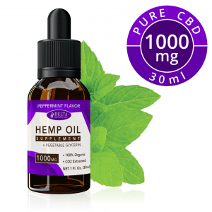 Peppermint CBD E Liquid - 1000mg CBD | 30ml Vape Oil